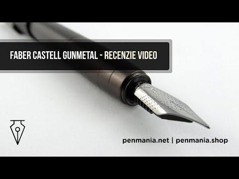 Stilou FABER CASTELL Loom Gunmetal - Recenzie video