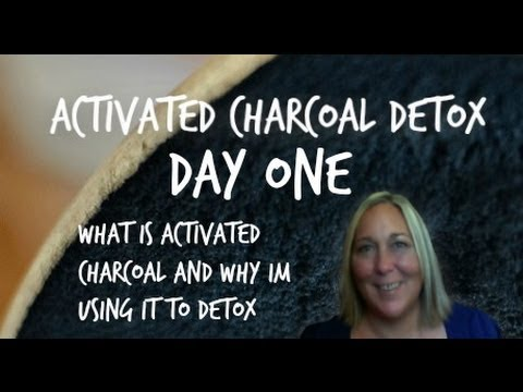 Activated Charcoal DeTox DAY ONE
