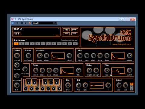 DSK Synth Drums by DSK Music