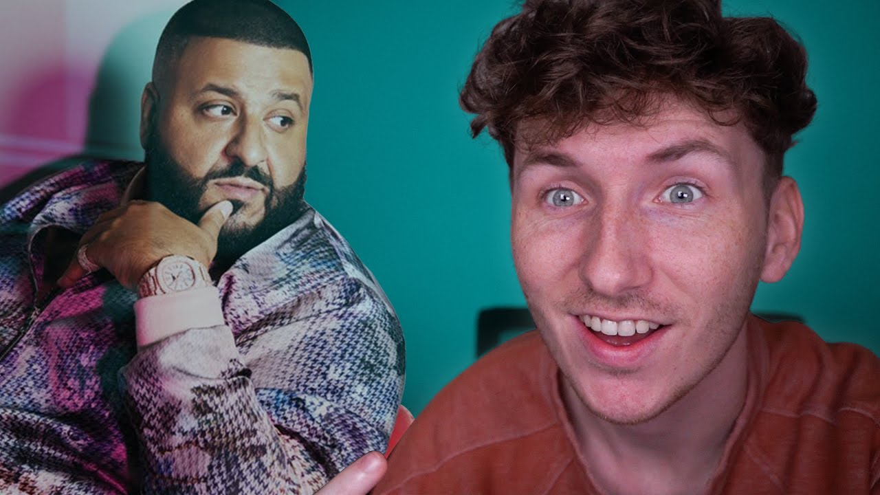 I'M THE NEXT DJ KHALED! *he's not happy about it*