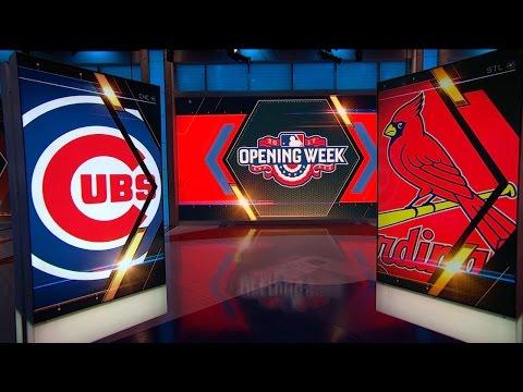 4/4 MLBN Showcase: Cubs vs. Cardinals