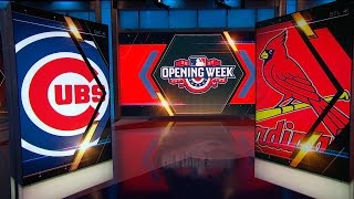 44 mlbn showcase cubs vs cardinals
