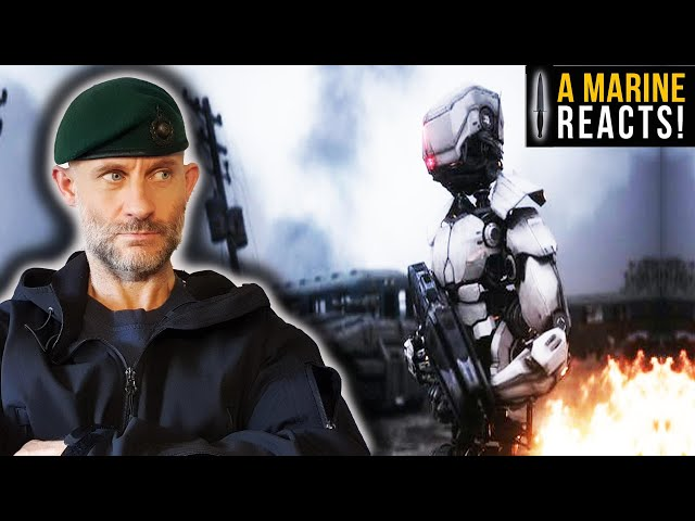 HUMAN Augmentation - The UK's 'Super' Soldiers | A Royal Marine Reacts