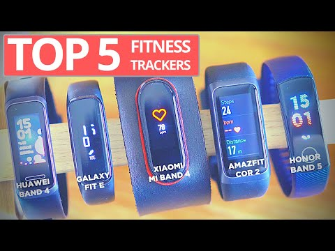 Top 5 Fitness Trackers Below $50!