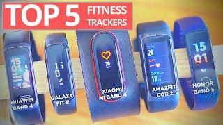 Top 5 Fitness Trackers Below $50!