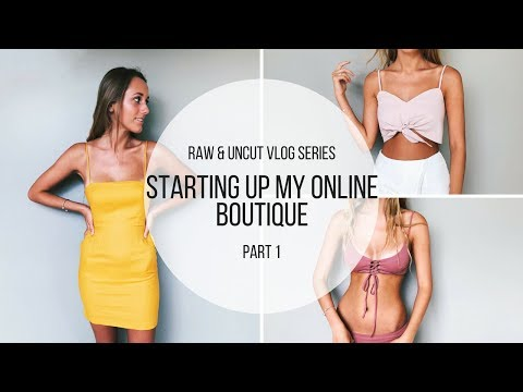 Raw & Uncut Vlog Series Part 1: Starting Up My Online Boutique | Monique Glasby