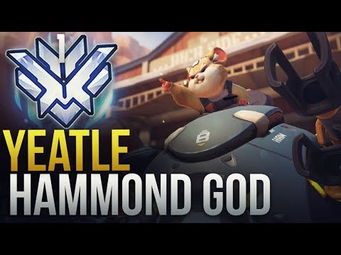Yeatle - RANK 1 WORLD HAMMOND GOD - #1 NA HAMMOND - Overwatch Montage