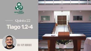 Reflexão: Tiago 1.2-4