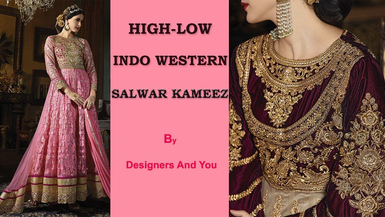 Indo western dresses for women | New designer Party wear outfits ...