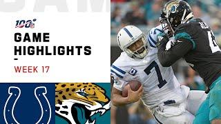 Colts vs. Jaguars Week 17 Highlights | NFL 2019