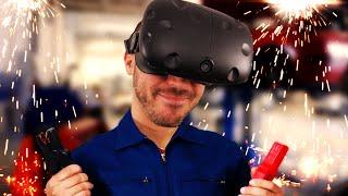 JE CUSTOMISE DES VOITURES ! Job Simulator HTC Vive