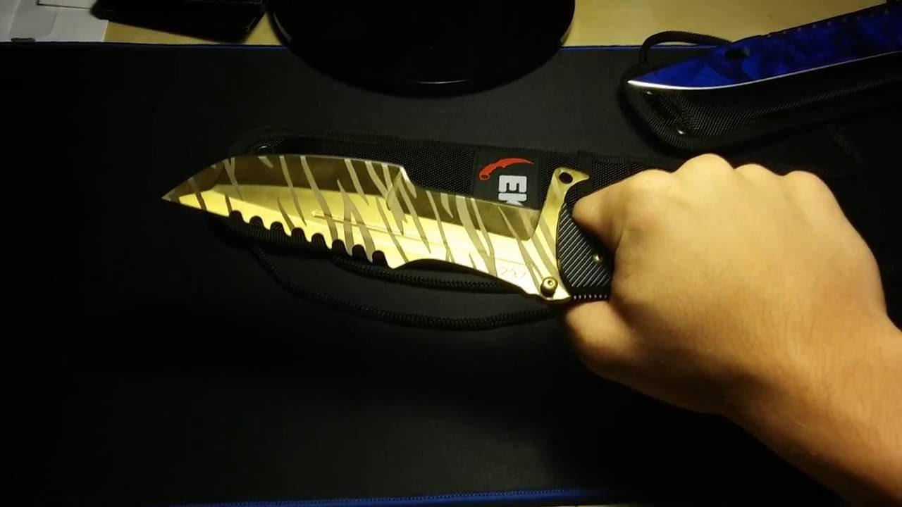 stattrak huntsman knife tiger tooth in real life elemental