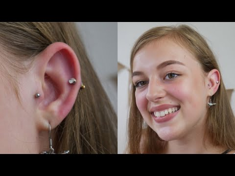 My Tragus Piercing Cost Pain Experience More Youtube