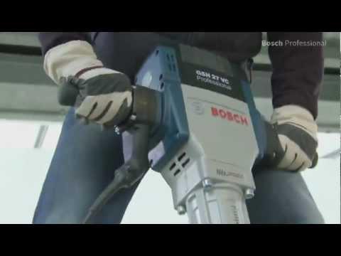Видео обзор: Отбойный молоток BOSCH GSH 27 VC