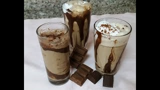 3 Types of Cold Coffee (with & without Ice cream)/ how to make cold coffee