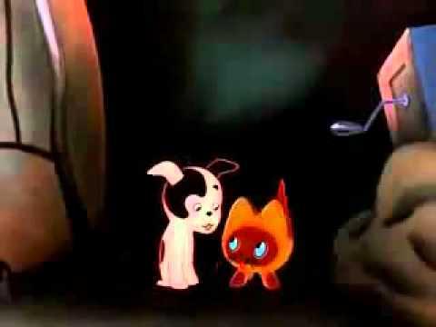 Мультфильм котенок гав гроза