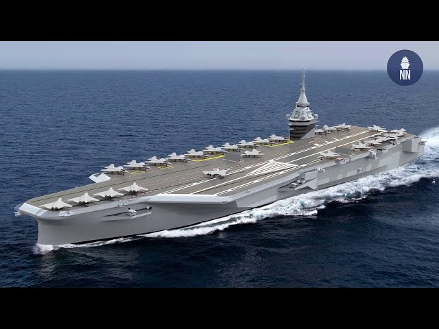 France's New Aircraft Carrier PANG will be nuclear-powered