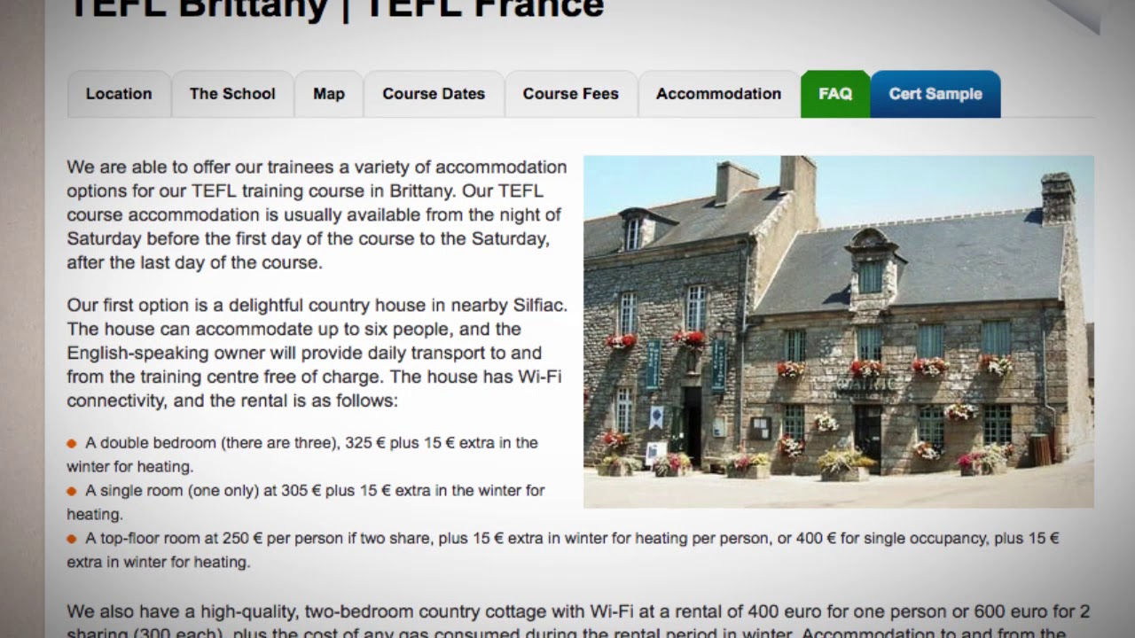 TEFL Brittany | TEFL France ▷ ITTT course