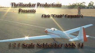 Jr Aero Tow 2013 Schleicher Ask14 Maiden Flight