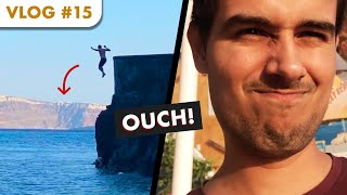 Cliff Jumping in Greece! | Dhruv Rathee Vlogs