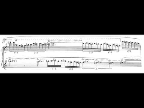 Edison Denisov - Des ténèbres à la lumière (accordion-live recording)