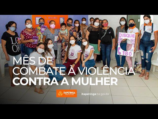 CRM realiza ações de combate à violência contra a mulher