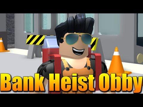 JE TOHLE NEJLEPŠÍ OBBY CO JSEM KDY HRÁL?😱 Roblox Crazy Bank Heist Obby