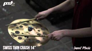 PAISTE PSTX - Swiss Thin Crash 14''