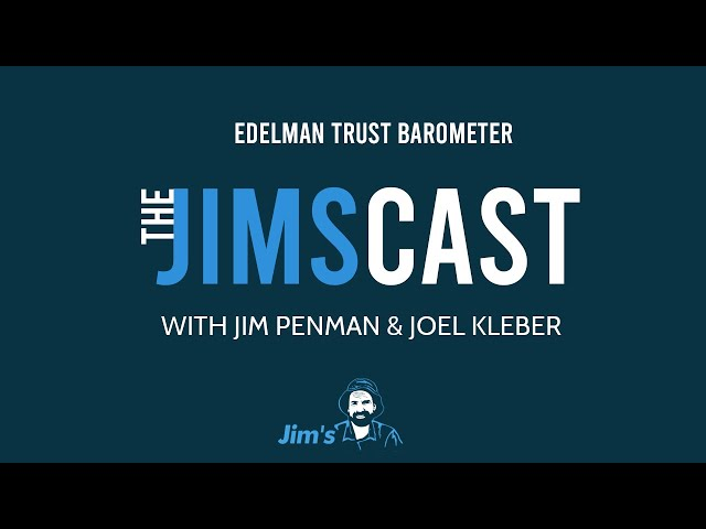 Why does Jim distrust the system and technology? Jim Penman and Joel Kleber - www.jims.net