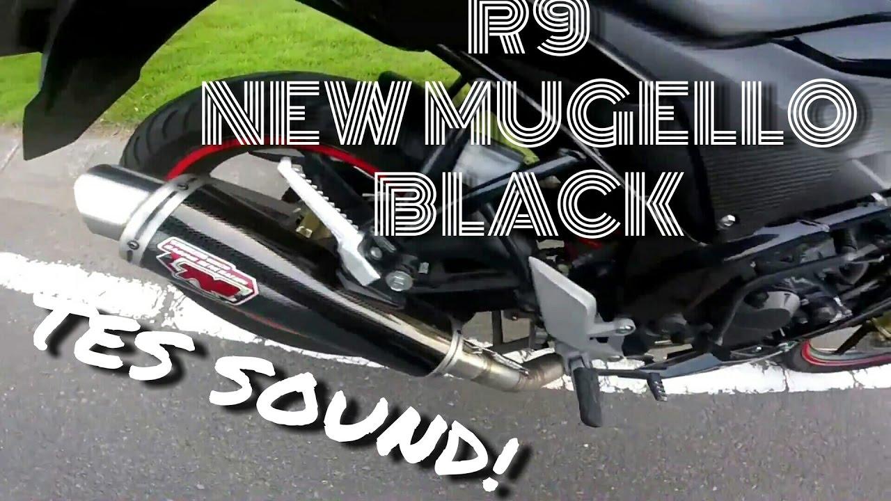 Knalpot R9 Mugello Black Test Sound Youtube Assen Kawasaki Klx 150 Full System
