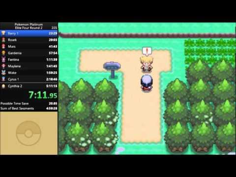 Pokemon Platinum Elite Four Round 2 Speedrun in 5:04:12 [Current World Record]