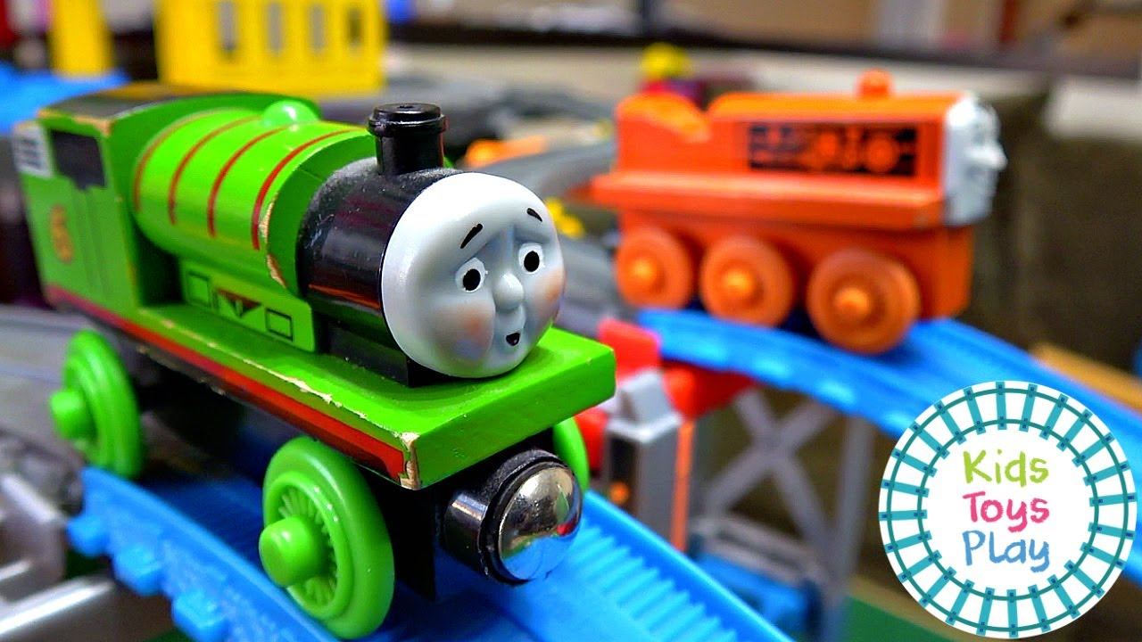 Thomas the Tank Engine Accidents Happen Toy Train Crash Compilation