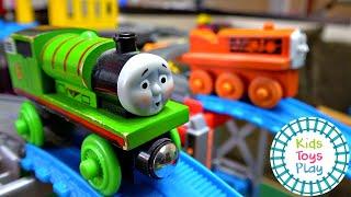 Thomas the Tank Engine Accidents Happen Toy Train Crash Compilation
