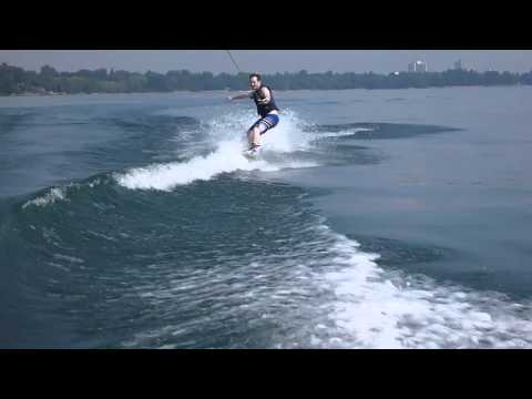 Wakeboarding Mississauga at Port Credit Lake Ontario