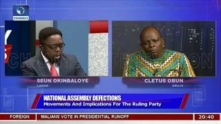 NASS Defections: Movements And Implications For The Ruling Party Pt.1