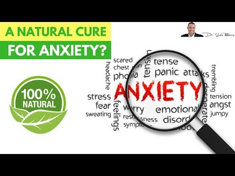 😵 A Natural Cure For Anxiety?