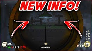 *NEW INFO* THE DARKEST SHORE NEW SIDE EASTER EGG HINTS! - CALL OF DUTY WW2 ZOMBIES DLC 1