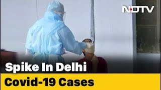 Covid-19 News: Delhi's Covid Cases Rise For Second Day Amid Nationwide Decline In Daily Cases