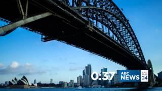 Mock | abc news 24 using bbc world news countdown theme