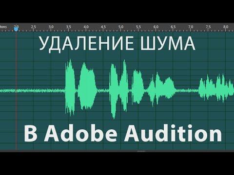 Как правильно убрать шум в Adobe Audition