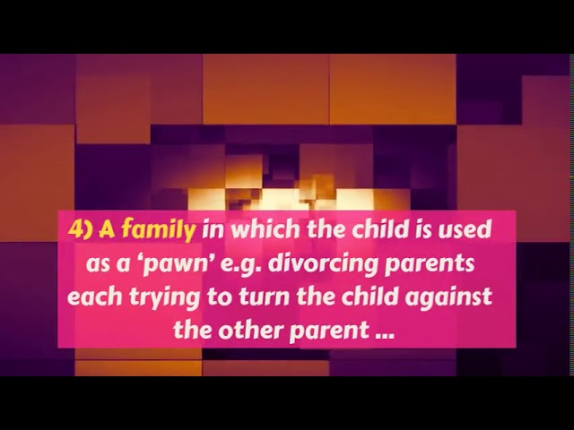 Dysfunctional Families Types And Effects
