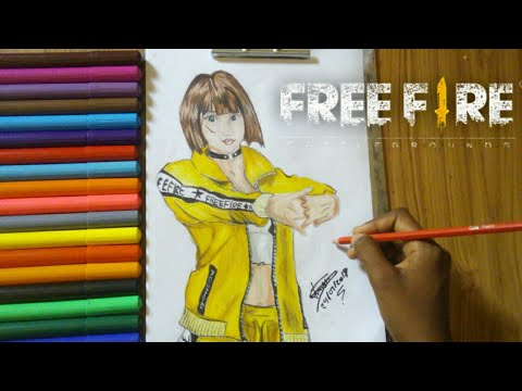 Drawing De Kelly Free Fire