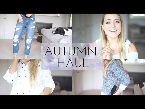 Generate Autumn HAUL - ASOS & TOPSHOP Try On! | Fleur De Force Pics