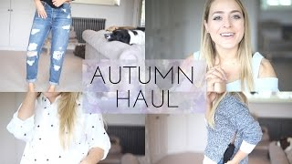 Autumn HAUL - ASOS & TOPSHOP Try On!