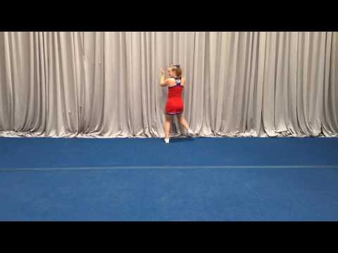 NCA Tryout Material 2017 - Long Dance Front To Music