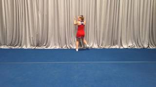 nca tryout material 2017 long dance front to music