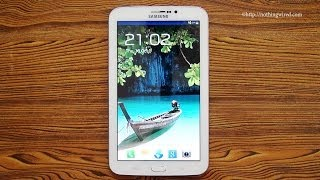 Samsung Galaxy Tab 3 7.0 7-inch Review: Complete Hands-on Unboxing, Hardware, Software, Performance