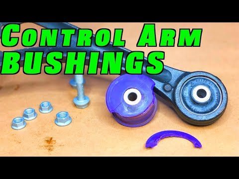 How To Replace Worn Control Arm Bushings