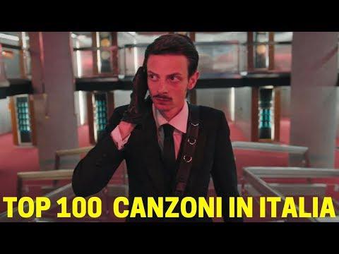 TOP 100 CANZONI IN ITALIA