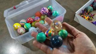 Testing a Box of Old Rubber Bouncy Super Balls!!🙃